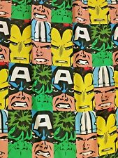 MARVEL COMICS AVENGER TWIN FLAT SHEET Very Good