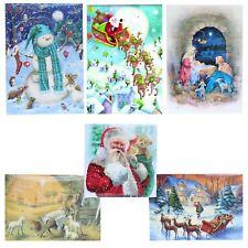 Christmas Countdown Card Advent Calendar - 24 Windows - Choose Design