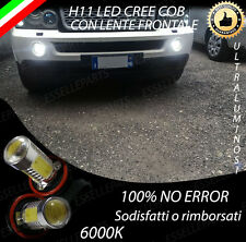 COPPIA LAMPADE FENDINEBBIA H11 LED CREE COB CANBUS RANGE ROVER SPORT HSE 6000K