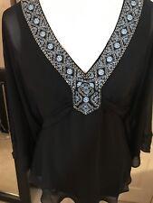White House Black Market Kimono Style Top Size Small NWT