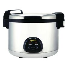 Apuro Large Commercial Rice Cooker 108 Cup 20Lt Restaurant Cafe Catering Chef