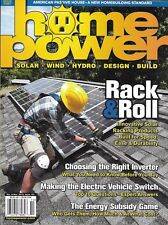 Home Power Solar Magazine Racking Products Inverter Electric Cars Energy Subsidy