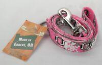Oregon Ducks Collegiate Pet Wear Leash Pink Small Dog T2