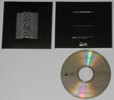 Joy Division - Unknown Pleasures - France cd, early textured insert edition