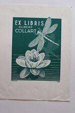 ✒ EX LIBRIS Albert Collart - par Engelen 1954