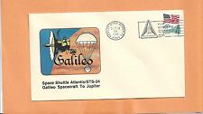 SPACE SHUTTLE ATLANTIS STS-34 GALILEO SPACECRAFT TO JUPITER OCT 18,1989 KSC