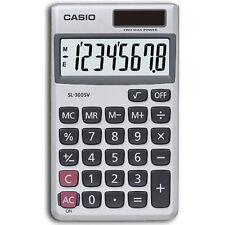 Casio SL300SV Pocket Calculator Solar 8-digit Display Home Office Business