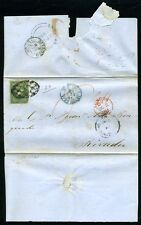 GB CROWNED CIRCLE/PUERTO RICO/SPAIN 1858