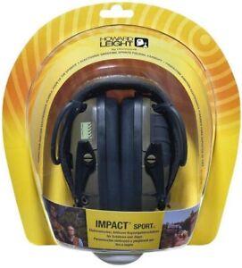Impact Sport Electronic Ear Defenders Howard Leight