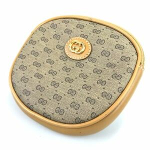 Gucci Pouch Micro GG GG Pattern Old Gucci Authentic Used