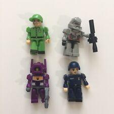 Kre-O Kreon Transformers Minifigures Lot of 4