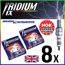 8x NGK BPR6EFIX-10 IRIDIUM IX SPARK PLUGS AUDI V8 3.6 quattro 04.93-02.94