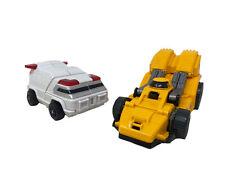 Vintage 1983 Bandai GoBots MR-15 Sports Car & Ambulance Transformer Toys Figures