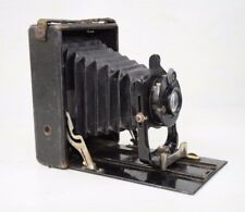 Antique Collectible WWI CHR. TAUBER WIESBADEN Film Photo Folding Camera JCA Lens