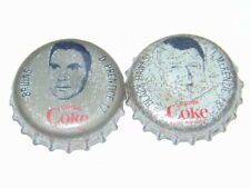 lot of 2 1964-65 Coke hockey caps Prentice/McKenzie