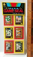 VINTAGE NINTENDO GAME & WATCH BOOTLEG FLICKER STICKER SET MIP! OCTOPUS PARACHUTE