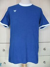 ERIMA WEST GERMANY VINTAGE 1980s COTTON TRIKOT FOOTBALL SHIRT SOCCER JERSEY L