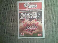Programm FC St.Pauli - 1 FC Union Berlin 11/12