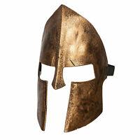 Adult Mens Womens Spartan Centurion Roman Warrior Halloween Costume Armor Mask