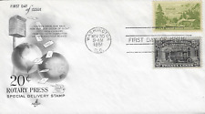 U.S. 1951 SPECIAL DELIVERY 20c Rotary Press #E19 with #999 ArtCraft FDC Cachet