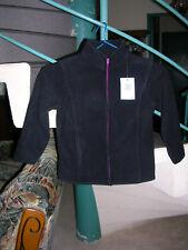 veste polaire noir Taille 6Ans Marque U-OXYG Fille Neuf avec étiquette