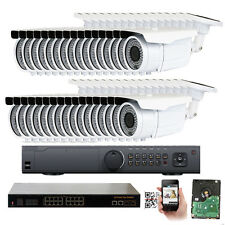 32Ch Network Nvr 2592P 5Mp PoE Ip 2.8-12mm Zoom Onvif 72Ir Osd Security Camera
