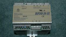 TDK LAMBDA  DLP240-24-1/E -  AC/DC CONVERTER, DIN RAIL 24V 10Amp