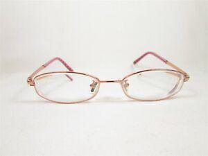 Coach Southport (407AF) PINK 48/18 135 Japan Titanium Designer Eyeglass Frames