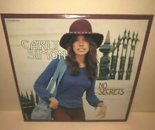 CARLY SIMON No Secrets 3rd CD hits YOURE SO VAIN Right Thing To Do James Taylor