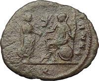 AURELIAN  272AD Mediolanum Milan Ancient Roman Coin ROMA w Victory  i29816