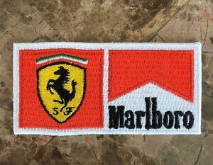 RARE Official Ferrari F1 Marlboro Uniform Patch - Schumacher Circa Early 2000's