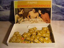 Scrabble Crossword Dominoes Game Selchow and Righter 10+ Complete 1976