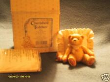 Cherished Teddies ^ Mandy I love you just the way you are bear on pillow 1991
