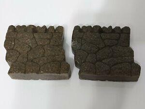 'G' Gauge Interlocking Resin Heavy Walling Sections x 2