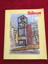 Shibuya Walking Map In English Paperback Tokyo Japan Illustrated Tourist Guide
