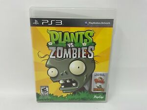 Plants vs. Zombies PS3 (Sony PlayStation 3, 2011)
