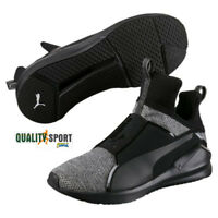 Puma Fierce Metallic Heather Nero Grigio Scarpe Donna Sneakers 190349 01