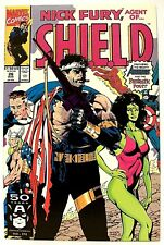 """NICK FURY, AGENT OF SHIELD"" # 26 (Aug, 1991) (Marvel Comics) f. the AVENGERS"