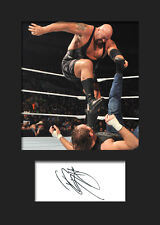 BIG SHOW #2 (WWE) Signed Photo A5 Mounted Print - FREE DELIVERY