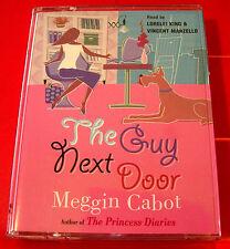 Meggin/Meg Cabot The Guy/Boy Next Door 2-Tape Audio Book Lorelei King/V.Marzello