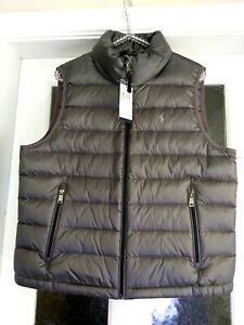 Grey Polo Ralph Lauren Gilet Body Warmer Size L