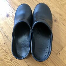 Dansko Professional Black Clogs - Women's 39 (8.5-9) -