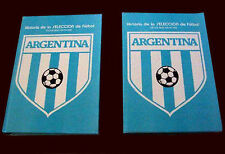 SOCCER ARGENTINA TEAM History 1893 - 1991 - 2 Books 678 pages !!!