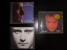 LOTE 3 CD`S PHIL COLLINS - MUY BUENAS CONDICIONES