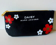Daisy Marc Jacobs Black Cosmetics Bag decorated with flowers, Brand New!