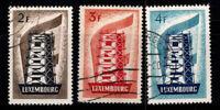 Luxemburg 1956 Mi. 555-557 Gestempelt 100% Europa CEPT
