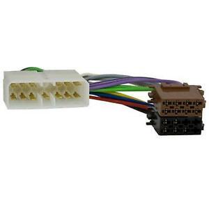 Radio-Adapterkabel CHEVROLET,DAEWOO (Espero,Nexia) auf ISO (Spannung + 4 Lautspr