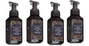 4 Bath & Body Works Crisp Morning Air Gentle Foaming Hand Soap Juniper Pear Pine