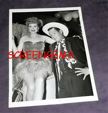 """I Love Lucy"" original 1956 photo Lucille Ball Desi Arnaz Kids Charity event"