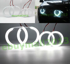 WH Cotton SMD LED Halo Rings For Mazda 6 speed6 MS6 2002 Devil Demon Angel Eyes